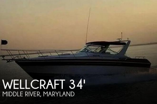 1987 Wellcraft 3400 Gran Sport - For Sale at Middle River, MD 21220 - ID 143749