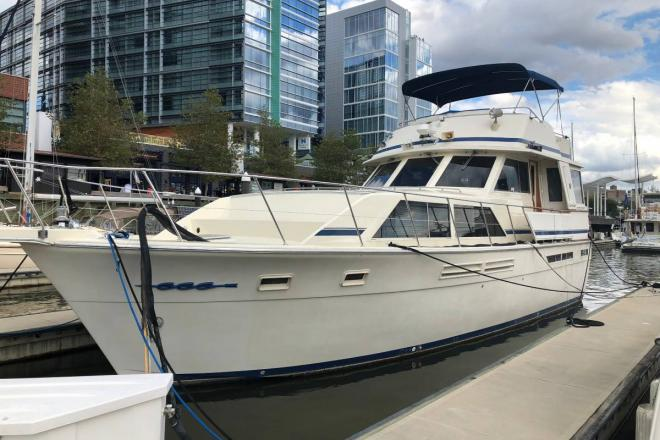 1986 Chris Craft 460 Constellation - For Sale at Washington, DC 20001 - ID 153934