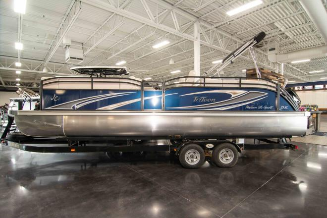 2019 JC Tritoon NepToon 25TT Sport - For Sale at Osage Beach, MO 65065 - ID 154060