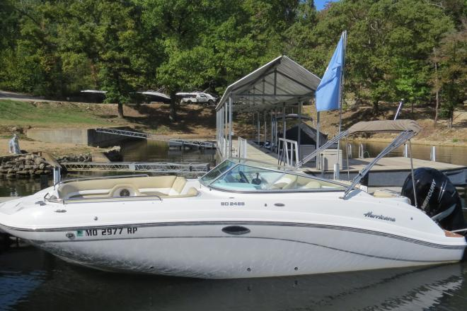 2016 Hurricane SD 2486 - For Sale at Lake of the Ozarks, MO 65065 - ID 154066