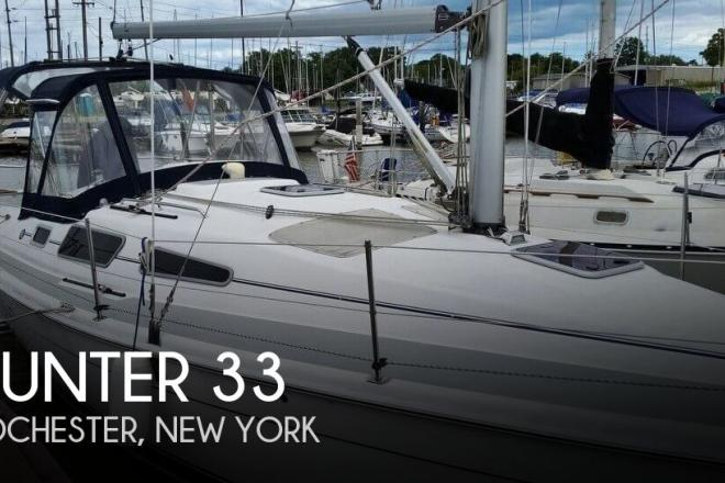 2006 Hunter 33-2 - For Sale at Rochester, NY 14602 - ID 153275