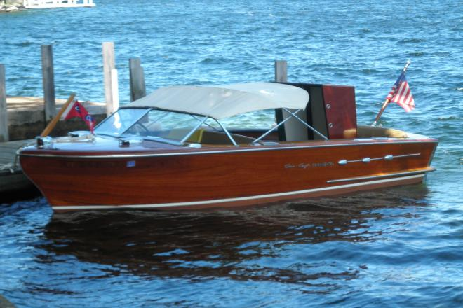 1955 Chris Craft Continental - For Sale at Mirror Lake, NH 3853 - ID 154246