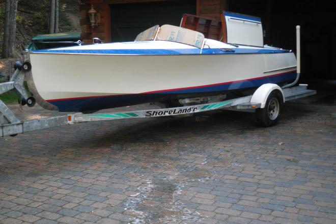 2000 Chris Craft Racing Runabout - For Sale at Mirror Lake, NH 3853 - ID 154247
