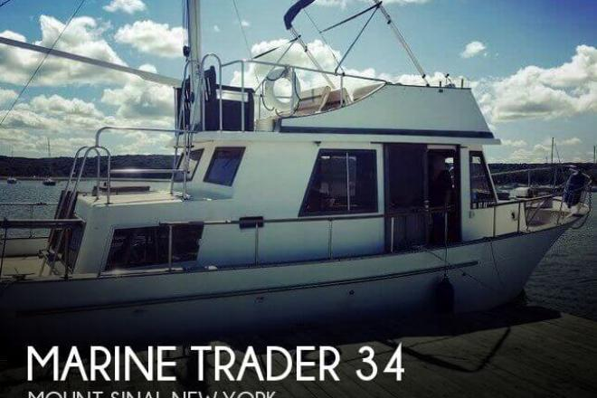 1982 Marine Trader 34 DC - For Sale at Miller Place, NY 11764 - ID 154260