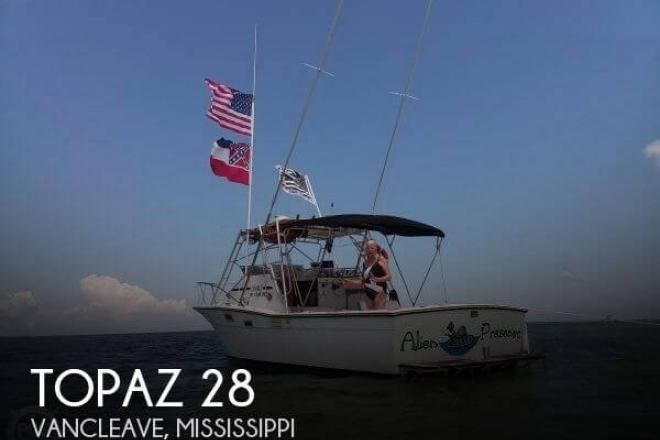 1980 Topaz 28 Sportfish - For Sale at Vancleave, MS 39565 - ID 154090
