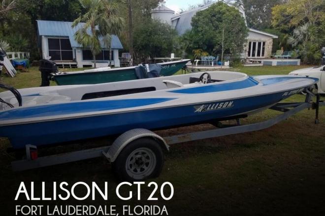 1980 Allison GT20 - For Sale at Fort Lauderdale, FL 33331 - ID 123660