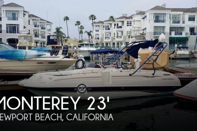 1998 Monterey 230 Explorer - For Sale at Newport Beach, CA 92658 - ID 154433