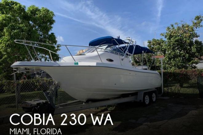 2001 Cobia 230 WA - 2016 Yamaha 250 - For Sale at Miami, FL 33145 - ID 153052