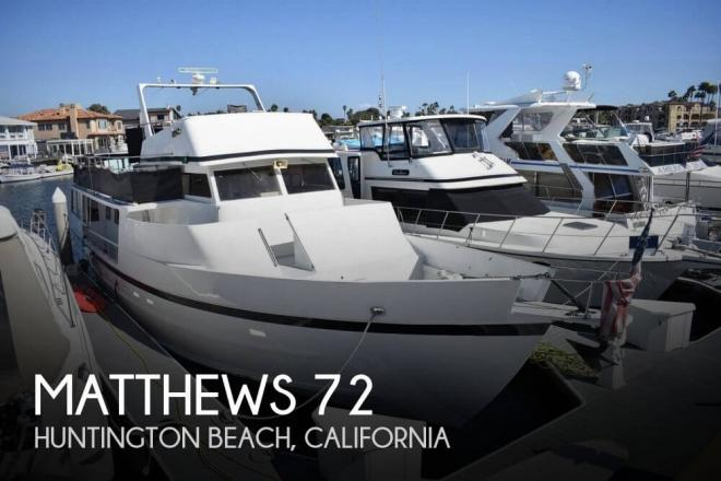 1971 Matthews 72 - For Sale at Huntington Beach, CA 92646 - ID 151746