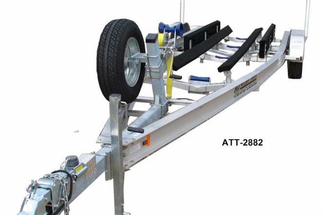 2018 McClain Trailers ATT 2882-15 fits 26-28ft deep V hull - For Sale at Marrero, LA 70072 - ID 152023