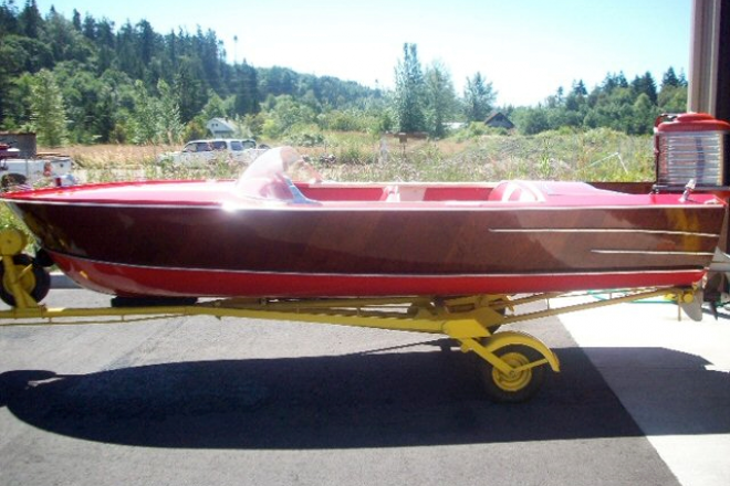 1958 Classic Wooden Runabout - For Sale at Concord, CA 94518 - ID 154767
