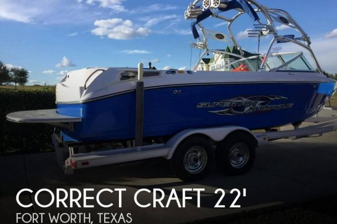 2006 Correct Craft Super Air Nautique 220 Team - For Sale at Fort Worth, TX 76126 - ID 154305
