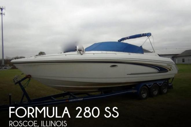2002 Formula 280 SS - For Sale at Roscoe, IL 61073 - ID 154440