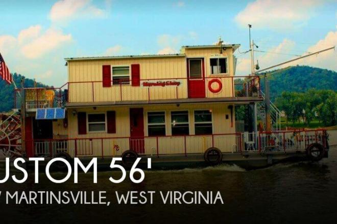 2013 Custom Built 56' Sternwheeler - For Sale at New Martinsville, WV 26155 - ID 154701