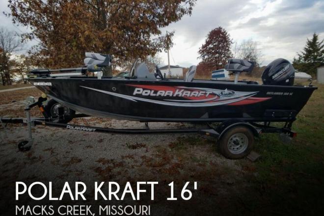 2016 Polar Kraft Outlander 160SC - For Sale at Macks Creek, MO 65786 - ID 154303