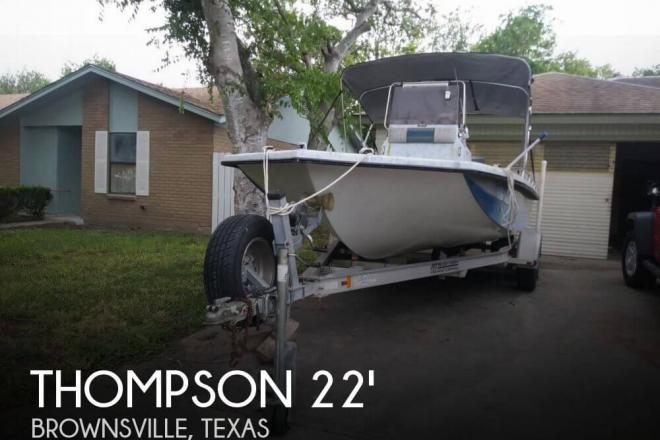 1990 Thompson 222 Predator - For Sale at Brownsville, TX 78520 - ID 153189