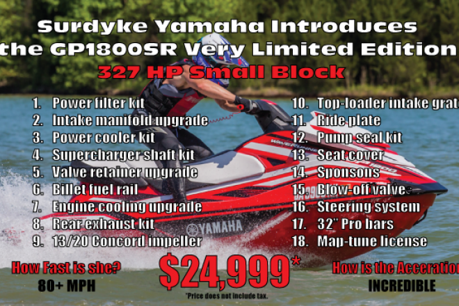 2017 Yamaha GP1800 - For Sale at Osage Beach, MO 65065 - ID 130565