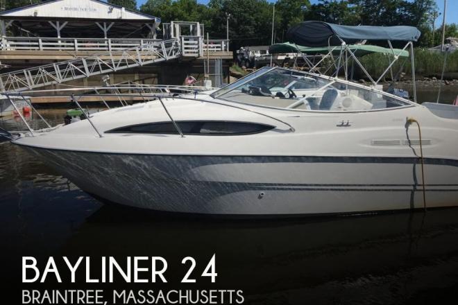 2002 Bayliner 2455 Ciera - For Sale at Braintree, MA 2184 - ID 148678
