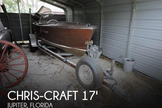 1957 Chris Craft 17 Sportsman Utility - For Sale at Jupiter, FL 33478 - ID 55265