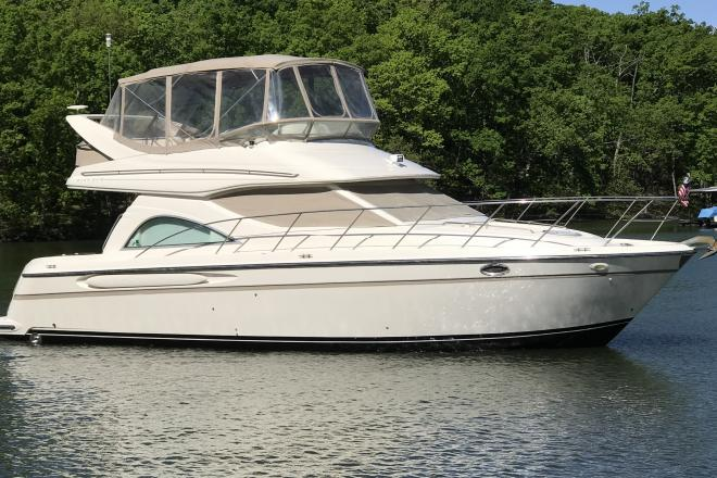 2000 Maxum 4100 SCB  - For Sale at Osage Beach, MO 65065 - ID 155208