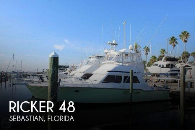 1994 Ricker 48 Convertible - For Sale at Sebastian, FL 32958 - ID 155070