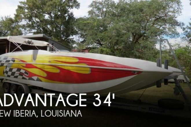 2005 Advantage 34 Party Cat TRX - For Sale at New Iberia, LA 70560 - ID 155198