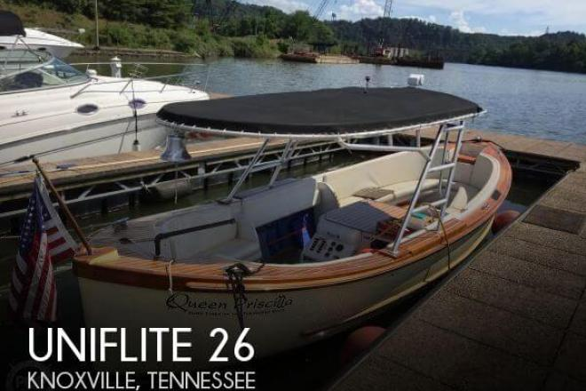 1968 Uniflite Whaleboat 26 - For Sale at Knoxville, TN 37901 - ID 155364