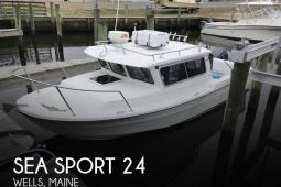 2004 Sea Sport 2400 XL 2015 twin Yamahas (low hours)