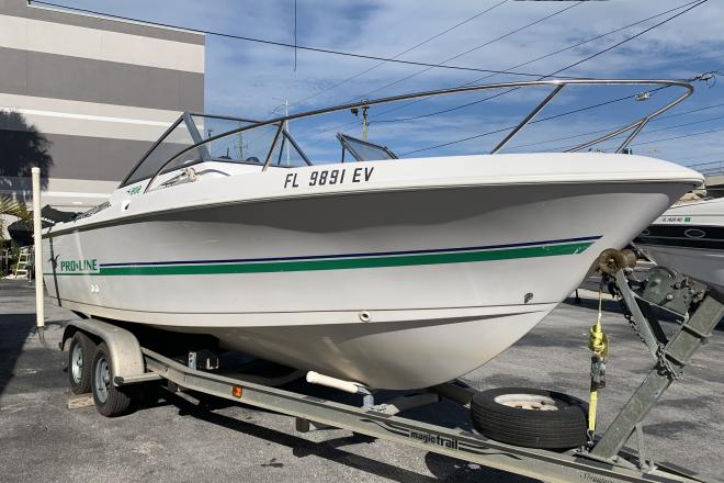 1999 Pro Line 22 dual console - For Sale at St Petersburg, FL 33701 - ID 155421