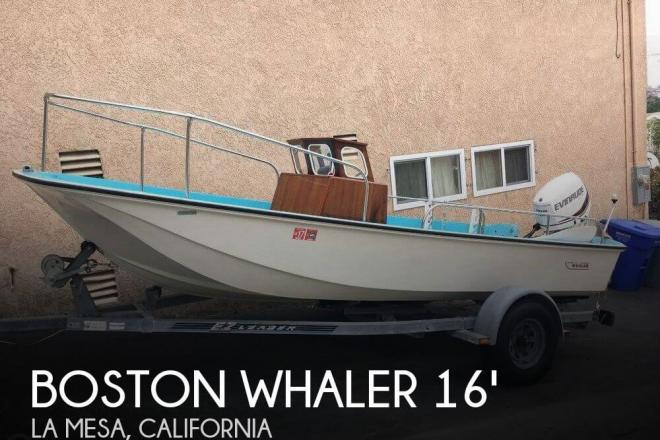 1972 Boston Whaler 16 Nauset - For Sale at La Mesa, CA 91941 - ID 143406