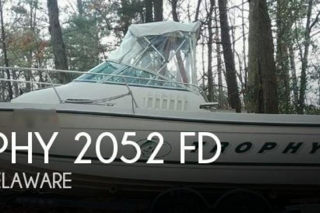 2001 Trophy 2052 FD - For Sale at Mechanicsburg, PA 17050 - ID 155024