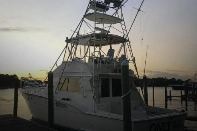 1984 Hatteras 45 Convertible - For Sale at Destin, FL 32540 - ID 154267
