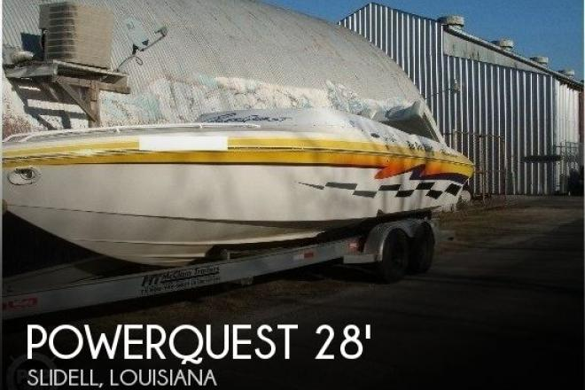 2001 Powerquest 280 Silencer - For Sale at Slidell, LA 70460 - ID 140981