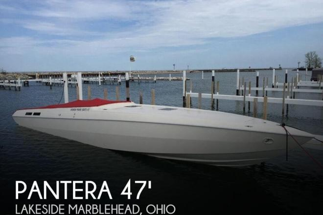 1995 Pantera Fountain/Aronow 47 - For Sale at Lakeside Marblehead, OH 43440 - ID 84098