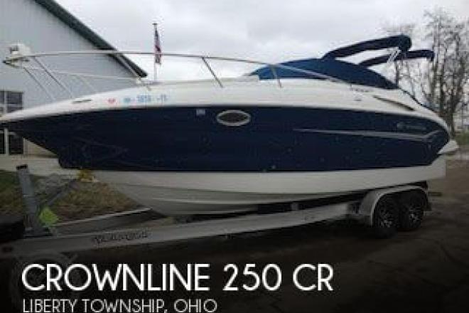 2004 Crownline 250 CR - For Sale at Liberty Township, OH 45044 - ID 155258