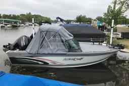 2018 Alumacraft 185 TROPHY BRS