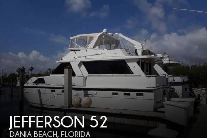 1989 Jefferson 52 Marquessa EDH - For Sale at Dania Beach, FL 33004 - ID 155711