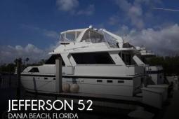 1989 Jefferson 52 Marquessa EDH
