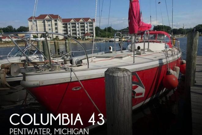1970 Columbia 43 - For Sale at Pentwater, MI 49449 - ID 147970