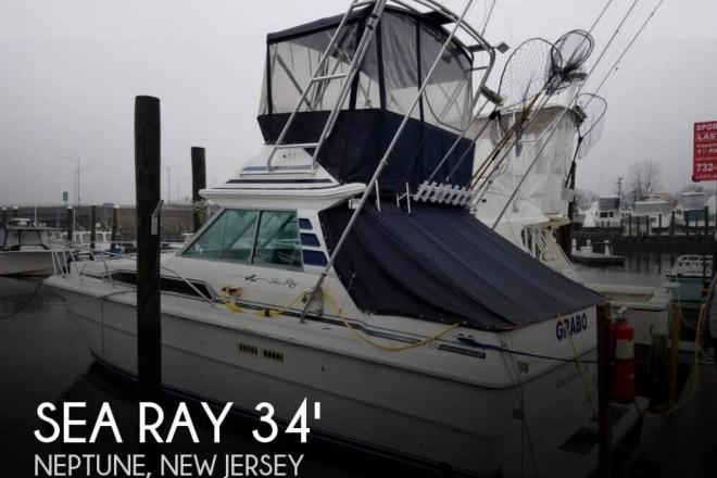 1988 Sea Ray 340 Sedan Bridge - For Sale at Neptune, NJ 7753 - ID 155513