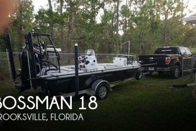 2018 Bossman 18 Skimmer - For Sale at Brooksville, FL 34601 - ID 156065