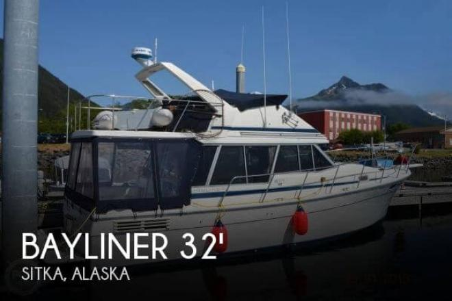 1988 Bayliner 3218 Aft Cabin - For Sale at Sitka, AK 99835 - ID 156073