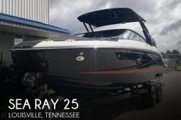 2017 Sea Ray 25