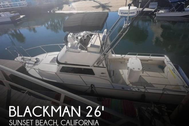 2005 Blackman 26' BillFisher - For Sale at Sunset Beach, CA 90742 - ID 155360