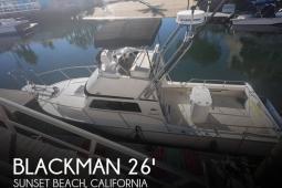 2005 Blackman 26' BillFisher