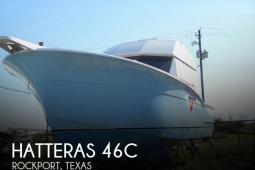 1985 Hatteras 46C