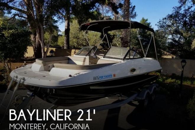 2016 Bayliner 215 Deck Boat - For Sale at Monterey, CA 93940 - ID 155280