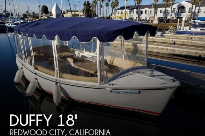 2015 Duffy 18 Snug Harbor - For Sale at Redwood City, CA 94061 - ID 155884