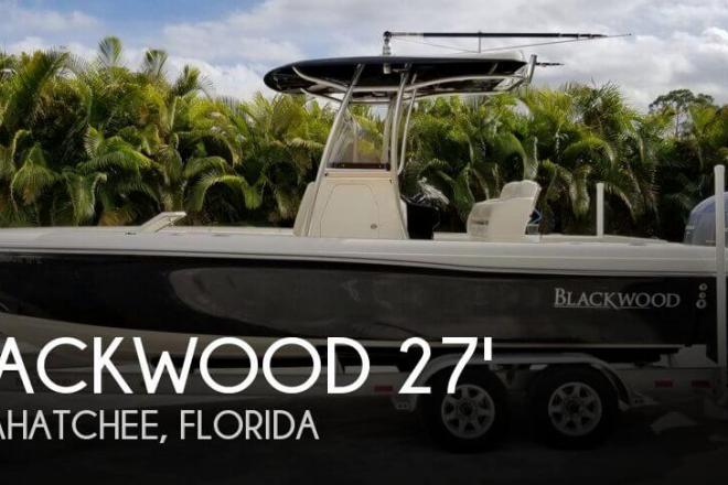 2015 Blackwood 27 Center Console - For Sale at Loxahatchee, FL 33470 - ID 155983