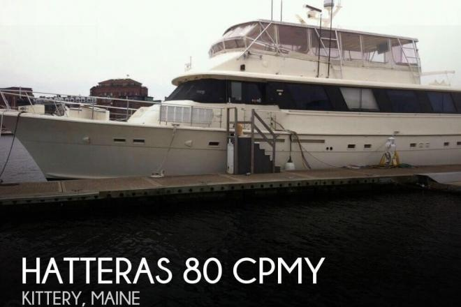 1985 Hatteras 90 CPMY - For Sale at Kittery, ME 3904 - ID 156020